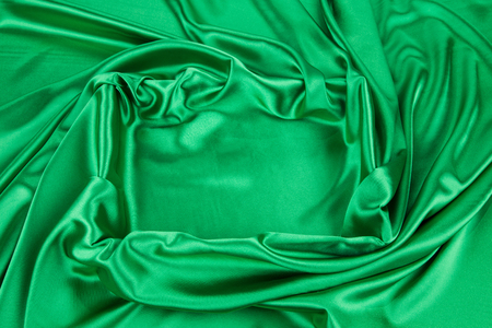 sexual abstract: Green silk drapery