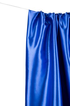 tela seda: Azul de seda textura pa�o primer. Todo el fondo.