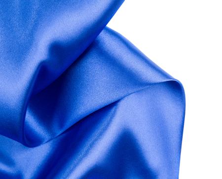 tela seda: Pa�o de seda con pliegues de color azul oscuro. Todo el fondo.