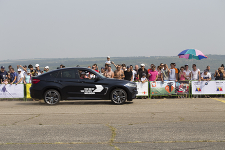 BMW Festival in Chisinau Republic of Moldova July 30 2016. Parade BMW models. Редакционное