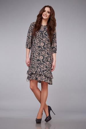 366d9bd7f10a  54432060 - Elegante estilo de moda elegante dama joven y bella mujer sexy  vestido