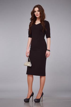 30a9dacbd6c1  54432369 - Elegante estilo de moda elegante dama joven y bella mujer sexy  vestido