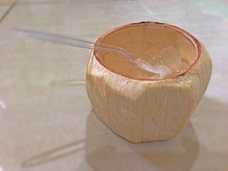 Coconut jelly Stock Photo