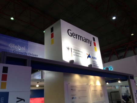 Germany Booth in Indonesia Power Event at Pekan Raya Jakarta