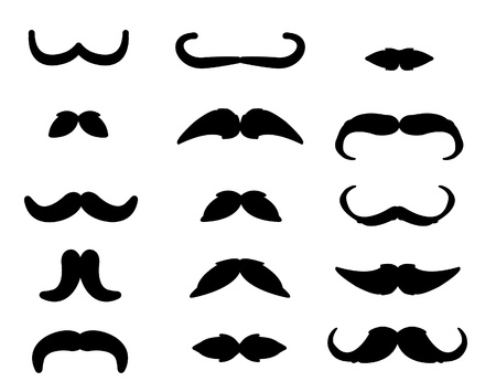 moustache Stock Vector - 17445031
