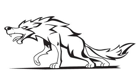 wolf Stock Vector - 17444692