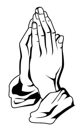gebed de hand