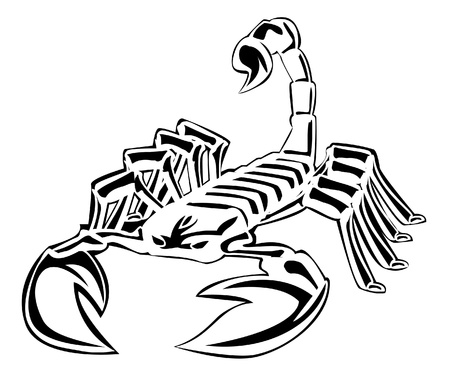 cartoon scorpion: scorpion