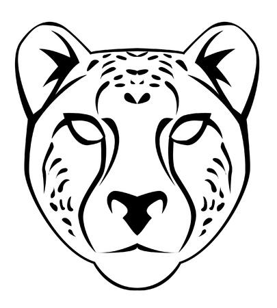 chaume: visage gu�pard