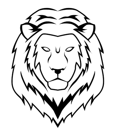 lion face Stock Vector - 17444856