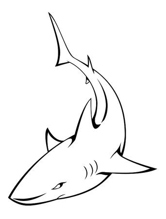 shark Stock Vector - 17445029