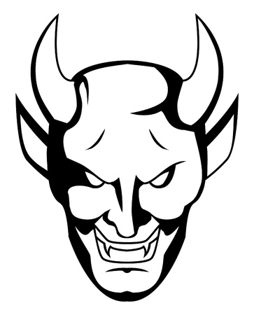 demon face Stock Vector - 17444673