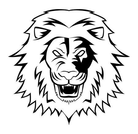 mascot: lion Illustration