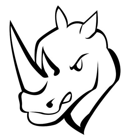 rhino Stock Vector - 17682153