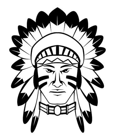 indian tattoo: apache