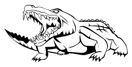 crocodile Stock Vector - 17682150