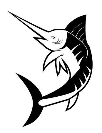 pez vela: pez marlin