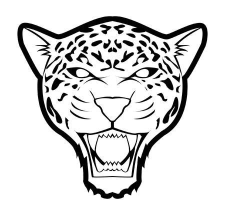 jaguar: jaguar Vectores