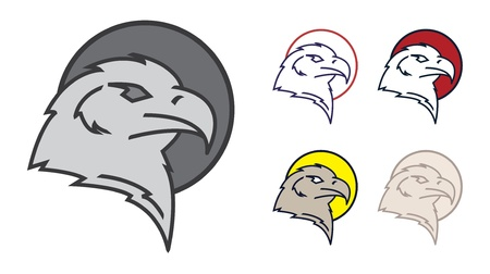 eagle head Stock Vector - 17444931