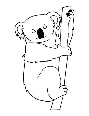 koala sign Stock Vector - 17444641