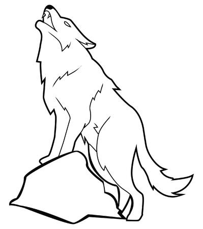 wolf Stock Vector - 17444950
