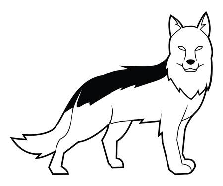 shepherd dog Stock Vector - 17444621
