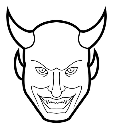 devil face Stock Vector - 17444694