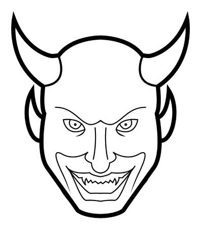 lucifer: devil face