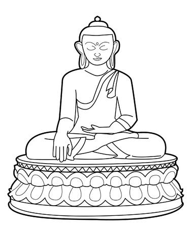 buddha Stock Vector - 17444954