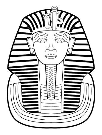 sphinx: faraone Vettoriali