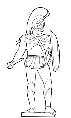 sparta: Spartaner Illustration