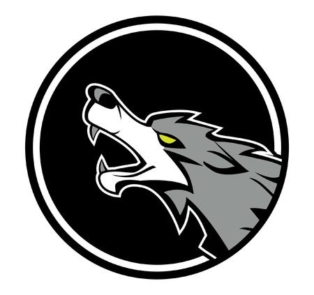 wolf emblem Stock Vector - 17444508