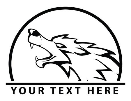 wolf symbol Stock Vector - 17444499