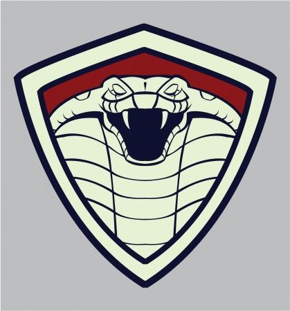 snake bite: cobra emblem