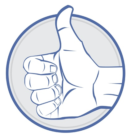 Thumb up Stock Vector - 17444579
