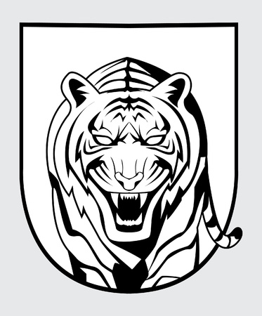 tiger symbol Stock Vector - 17444911