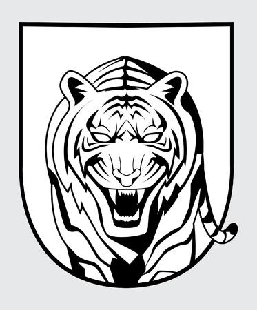 tiger symbol Stock Vector - 17444911