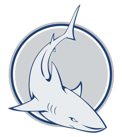 shark symbol Stock Vector - 17444531