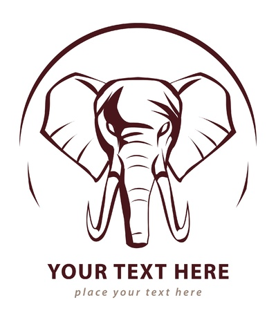 head icon: elephant sign