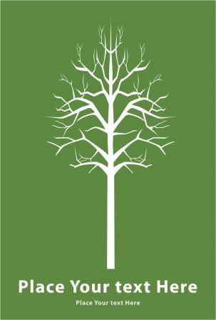 death tree sign Illustration