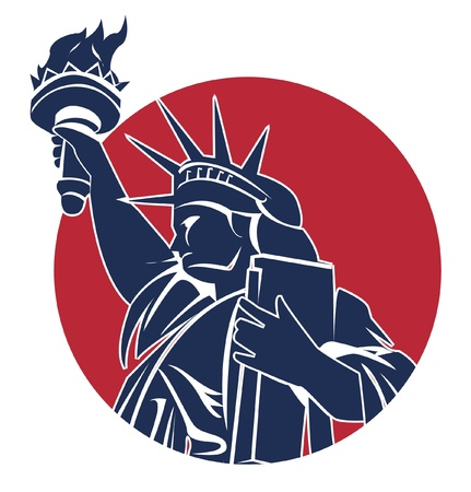 liberty symbol Vector