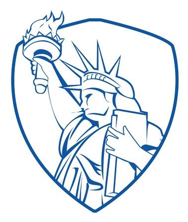liberty Stock Vector - 17444783