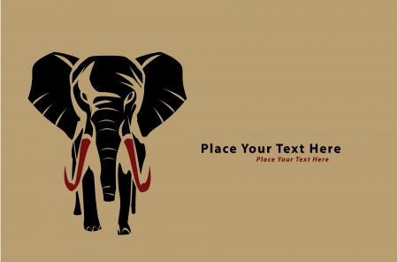 elephant Stock Vector - 17444874
