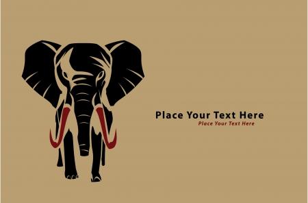 elephant Stock Vector - 17444874