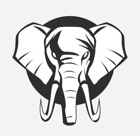 elefant: Elefanten-Symbol