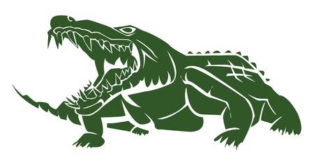 crocodile: crocodile Illustration