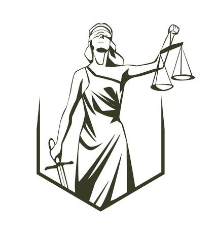 dama justicia: themis