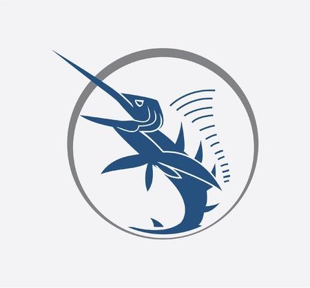 marlin fish Stock Vector - 17444955