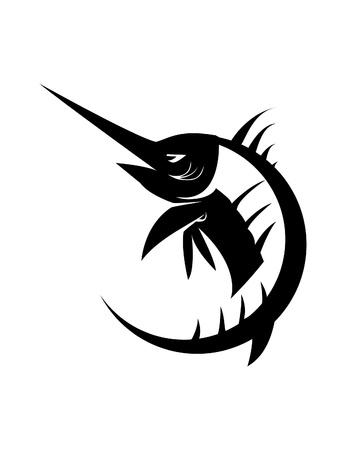 marlin: marlin fish Illustration