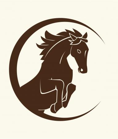 horse symbol Stock Vector - 17444960